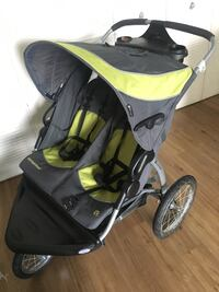 Double Stroller/Jogger with Large Tires for Winter (BabyTrend)  Calgary, T2P 1H8