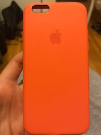 Orange iphone 6 case