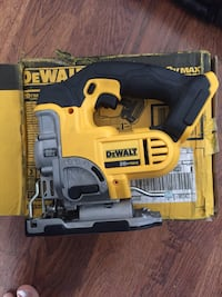 Dewalt 20  Volt jig saw(no battery) This saw being used couple of times and still shining  Falls Church, 22043
