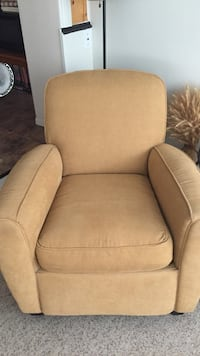 beige cushion armchair Clearview