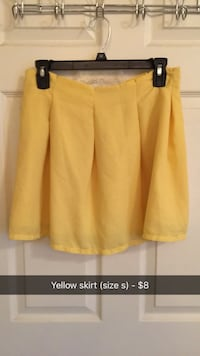 Yellow skirt (size s)