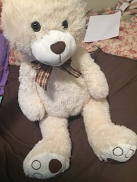 white and brown bear plush toy Greenbrier, 37073