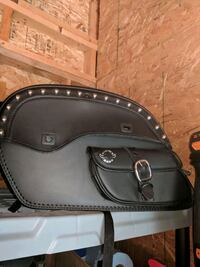 black leather leather crossbody bag St. Peters