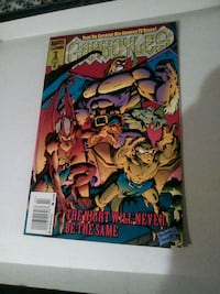 gargoyles first issue comic book