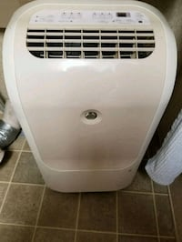 white and gray portable air cooler Mamou, 70554