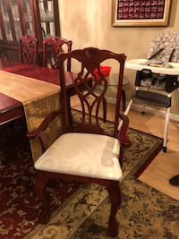 Cherry Red Dinning set and China Cabinet   Burke, 22015