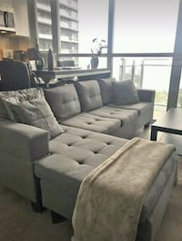 Brick Grey Sectional Sofa  Toronto, M3A 1Y2