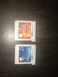 2 Nintendo 3 ds games  null