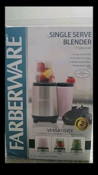 17pcs Blender Single Serve 25 mi