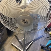 White and black pedestal fan St Albert, T8N 1H9