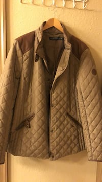 Brown zip-up bubble jacket Woodbridge, 22191