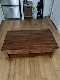 Coffee table, kitchen table and end table  New York, 10023