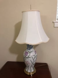 Floral lamp, I have 2 of these. $20 for both   Austin, 78757
