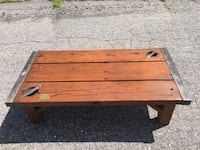 Antique WWII Liberty Ship Hatch Cover Coffee Table Bangor, 04401