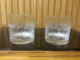 FINLANDIA ORIGINAL OLD FASHIONED GLASSES (1980's)