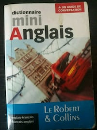 mini English French dictionnary Robert &Collins