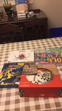 Brand new toys holiday gifts. Bat man, leap frog... great toys cheap! Vaughan, L4J 5L7
