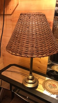 Wicker lamp shade Edmonton, T5G 1L5