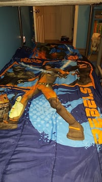 Star Wars rebels Twin bedding w/ curtains