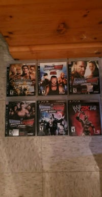assorted PS3 game case lot Montreal, H1K 2E5