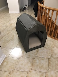Brown Wicker Pet House Toronto, M9W 4M1