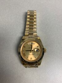 Gold watch: not for free
