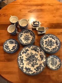 China. 8 of everything except 7 cups, cream/sugar, 4 fruit bowls Purcellville, 20132