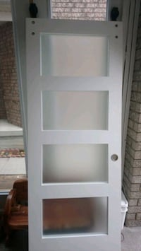 Customer Bran door with frosted glass  Mississauga, L5V 2W8