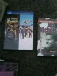 two assorted DVD movie cases New Orleans, 70122