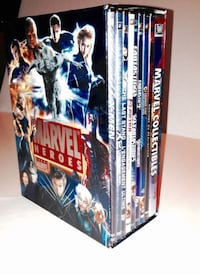 Marvel Heroes DVD Collection 9 Disc Bilingual Box Set London