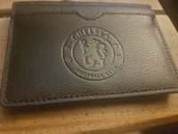 Chelsea leather wallet London