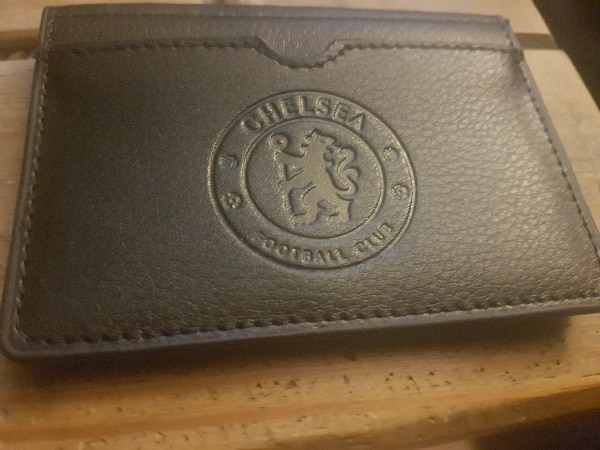 Chelsea leather wallet