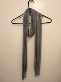 Grey Scarf with some shimmer in it.   299 mi