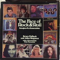 The Face Of Rock&Roll Soft Back Book Lebanon