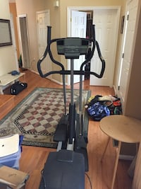 black and gray elliptical trainer Boyds, 20841