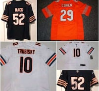 Chicago Bears jerseys all players