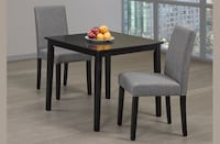 Brand new three-piece dining table set
