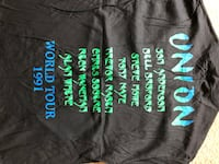 Black and green crew neck shirt Milford, 06460