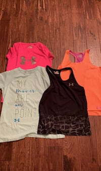 Four Under Armour tops