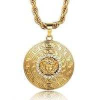 Men's Gold Plated Medusa Chain Tyngsboro, 01879