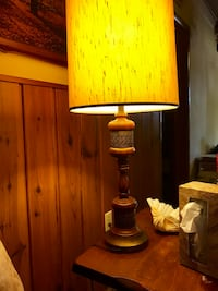 Two Matching Black and brown table lamps Kingston, 73439