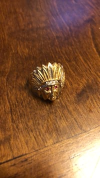 indian head ring 14k size 8 6.4g Everett, 02149