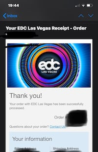 EDC Vegas Tickets - GA Admission (2) Vienna, 22181