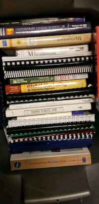 Business management textbooks