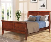 Beautiful Brown Queen Size Bed Frame  Salem, 97317