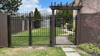 Offering , aluminun railings , fence , gate Vaughan