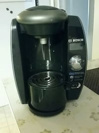 black and gray Bosch coffeemaker Burnaby, V5G 1G3