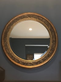 Two beautiful guilded mirrors