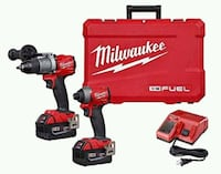 Milwaukee M18 Fuel Drill/Driver combo  Toronto, M6G