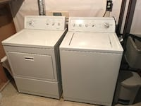 white washer and dryer set ETOBICOKE